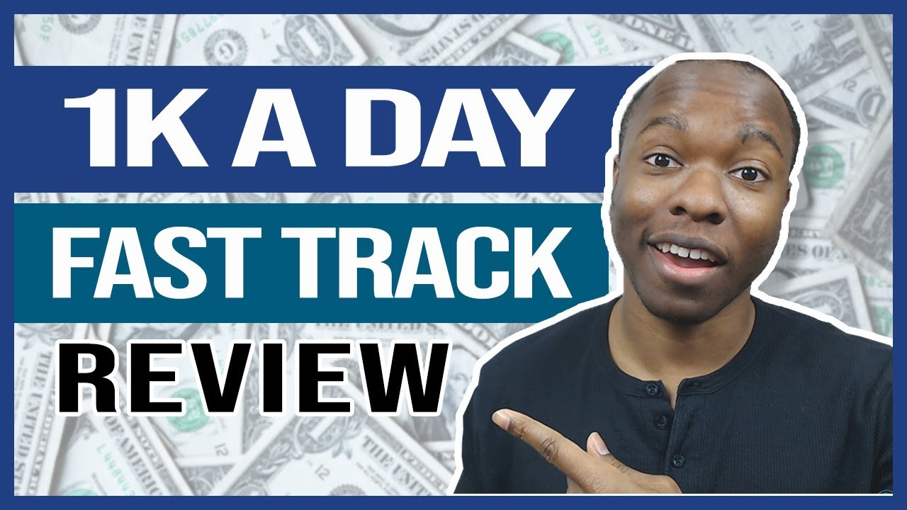 Giveaway For Free  1k A Day Fast Track Training Program