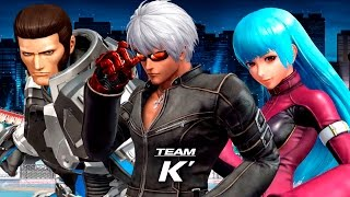 Team K' | Complete Story Mode Walkthrough - The King of Fighters XIV [English, Full 1080p HD]