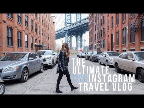 New York City Travel Vlog │ Instagram Edition