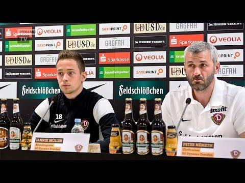 31. Spieltag | CFC - SGD | Pressekonferenz vor dem Spiel