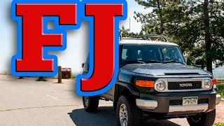Regular Car Reviews: 2012 Toyota FJ Cruiser