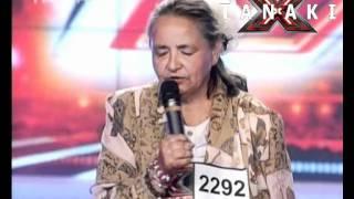Това бабе съсипа журито от смях - X - Factor България 11.09.11