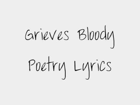 Grieves Bloody Poetry Lyrics