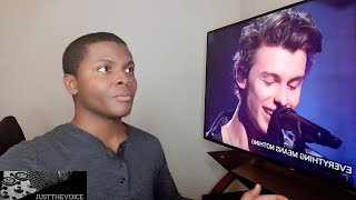"""Shawn Mendes - """"If I Can't Have You"""" Live On SNL (REACTION)"""