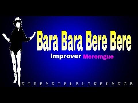 Bara Bara Bere Bere linedance (Christina Yang) - Improver - Merengue