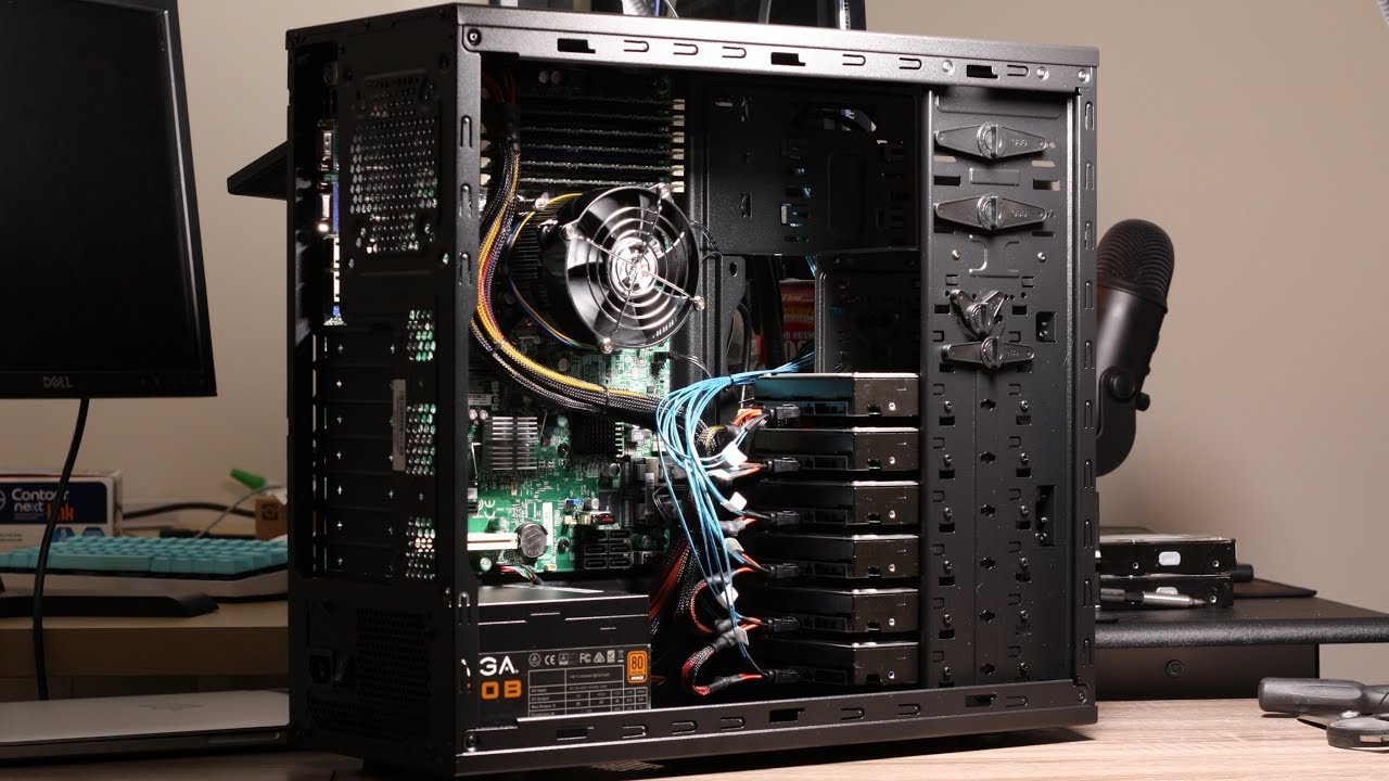 Live-stream: $135 NAS Killer Build for Plex & FreeNAS - Intel Xeon, Supermicro, DDR3 ECC, 6x3TB ...