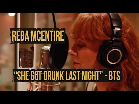 "Reba McEntire, ""She Got Drunk Last Night"" - Behind the Scenes"