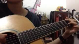Mùa Cô Đơn - Hoàng Yến Chibi ( guitar cover )