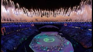 Rio Handover To Tokyo (Raising Of The Flags) - Rio Closing Ceremony | Rio 2016 Olympics