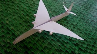 How To Make Paper Airplane Best Paper Planes,world's Largest Airplane Airbus A380, By Datta Benur