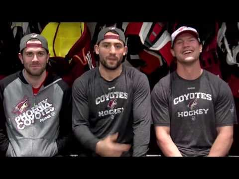 Paul Bissonnette, Keith Yandle, and Shane Doan with Super Bowl 48 Analysis (funny video!)