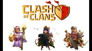 Max Barbarian king❇Archer Queen❇Grand Warden | Attack in Clash Of Clans | By ZM