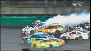Monster Energy NASCAR Cup Series 2017. Kentucky Speedway. Overtime
