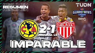 Resumen y goles | América 2-1 Necaxa | Torneo Guard1anes 2021 BBVA MX J13 | TUDN
