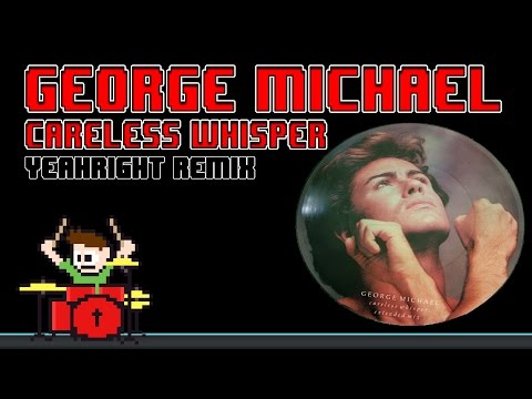 George Michael - Careless Whisper [YeahRight! Remix] (Blind Drum Cover) -- The8BitDrummer