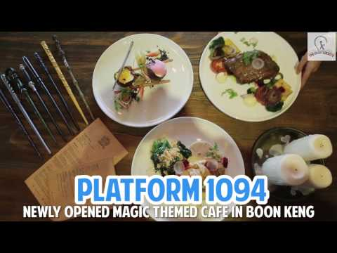 Platform 1094 - Harry Potter-Inspired Themed Cafe Now Open In Boon Keng!