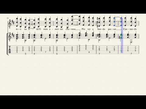 Chico Buarque - A Banda - Score with chords and lyrics