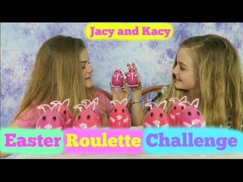 Chocolate Egg Roulette ~ Easter 2017 Challenge ~ Jacy and Kacy