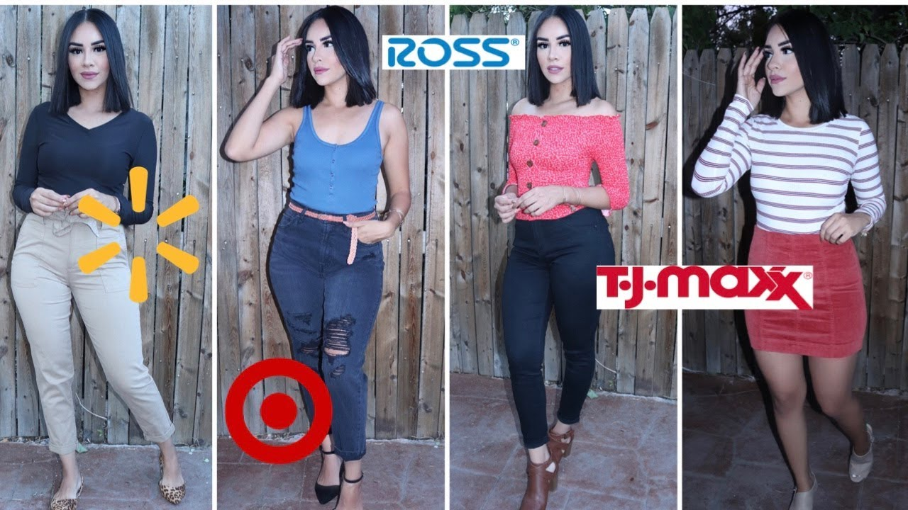 SHOPPING FOR FALL OUTFITS  (WALMART, TARGET, ROSS, TJ MAXX)  AFFORDABLE OUTFITS 2