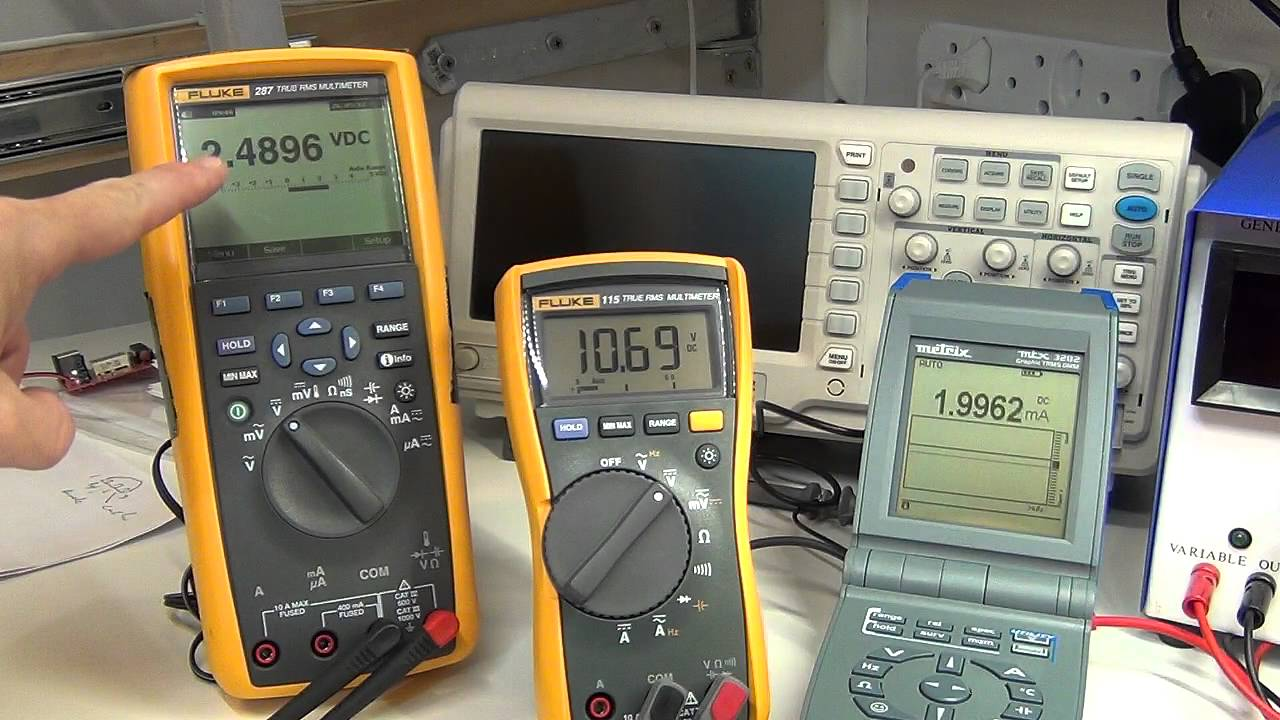 Multimeter Reference Check 4 Current Tl431 Youtube Adjustable Regulator By Electronic Projects Circuits