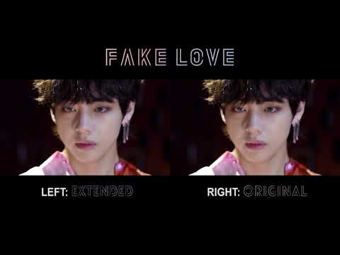 FAKE LOVE - BTS | Split Audio Original vs Extended Ver. (Rocking Vibe Mix)