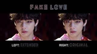 FAKE LOVE - BTS | Split Audio Original vs Extended Ver. (Rocking Vibe Mix) Mp3