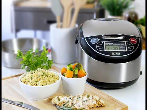 Tiger's JAX T10U Multi-functional Micom Rice Cooker
