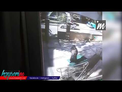 Kayseri'deki Hırsızlıklar Güvenlik Kameralarına Yansıdı
