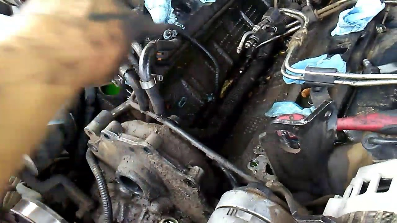 removing injection pump on 6 5 turbo diesel
