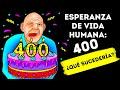 Si los humanos vivieran 400 años, aún serías un adolescente a los 80