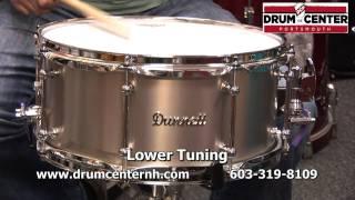 Dunnett Titanium Snare Drum - 6.5x14
