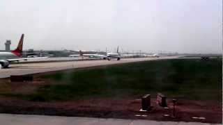 Airbus 320 take off from Xian