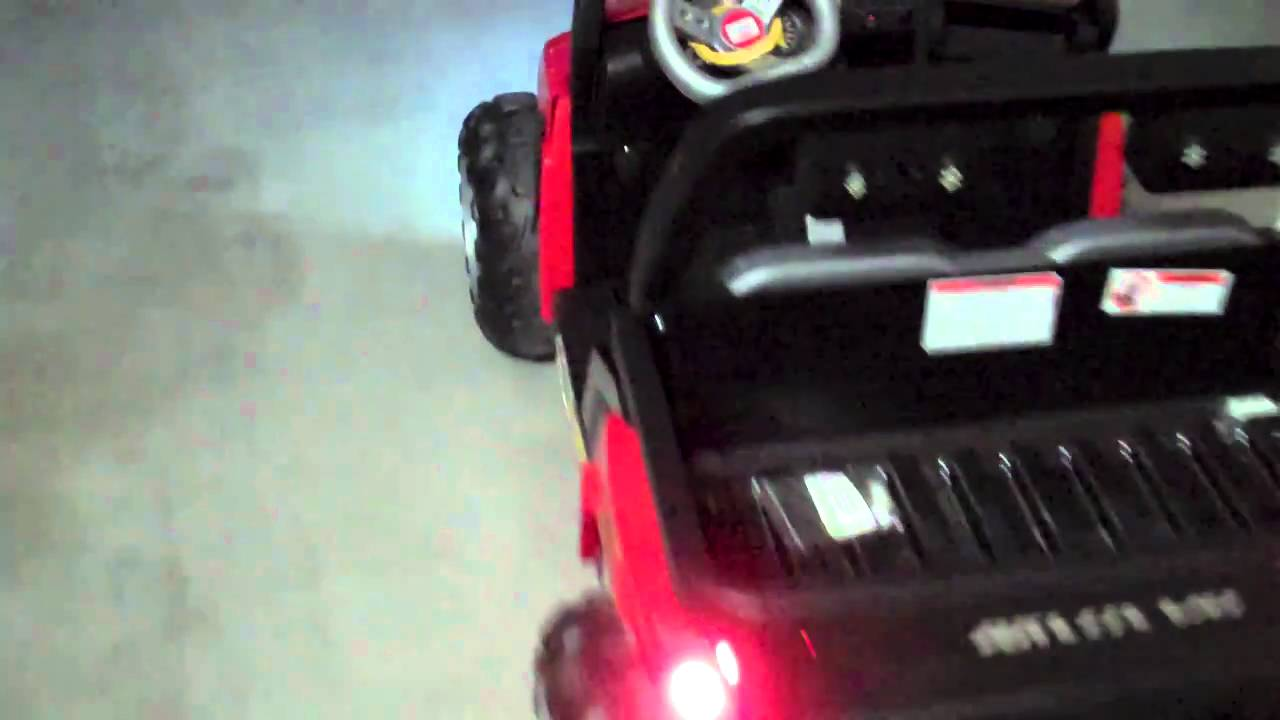 Power Wheels Arctic Cat Police Car