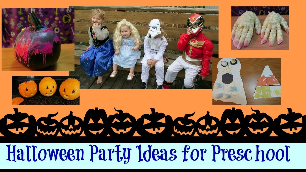 Halloween Party Ideas For Preschool Kids Pinterest Easy Snacks