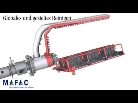 MAFAC Gezielt Reinigen 3D Animation