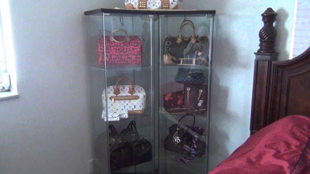 handbag cabinet