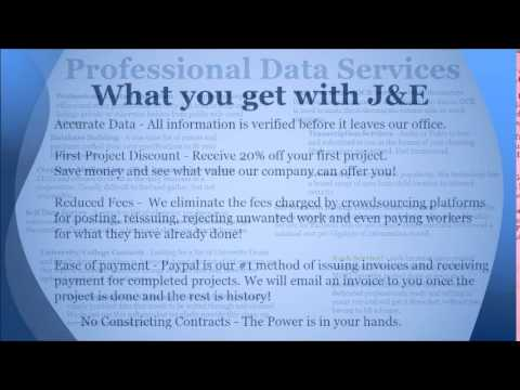 J&E Data Solutions Information for Partners