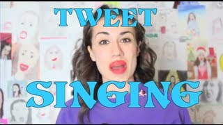 I SING YOUR TWEETS! AND MY UNCLE