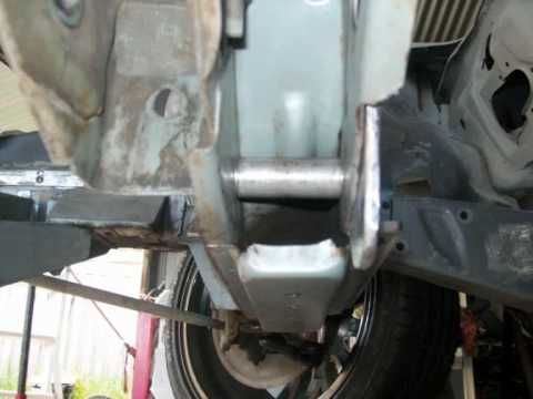 Rack And Pinion >> Steering Rack install. Part 1 - YouTube