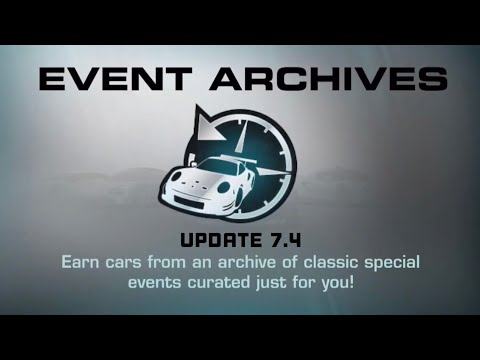 Real Racing 3 Event Archives Update 7.4