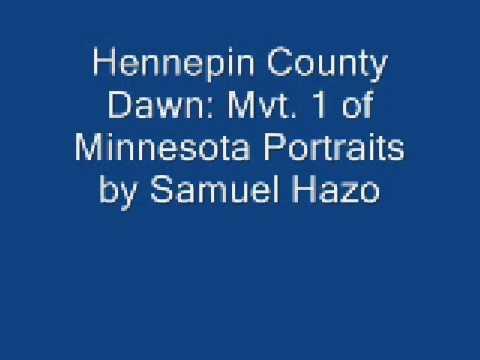 hennepin county dawn by Samuel Hazo