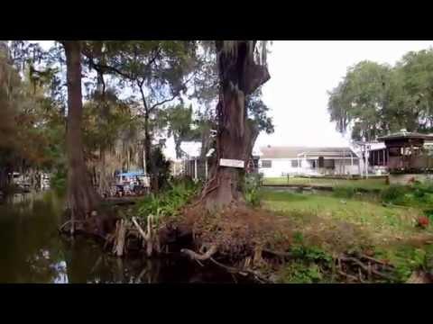 From Lake Dora through canal to Lake Eustis, Lake County Florida