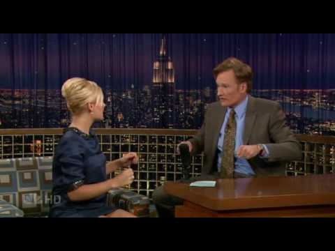Elisha Cuthbert on Conan O'brien 4th June 2007