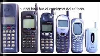 La evolución del teléfono movil