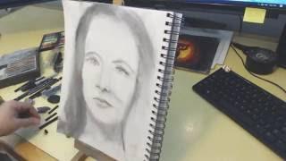 Addams Family Sketch - Drawlloween: #5 - Lisa C. Warren