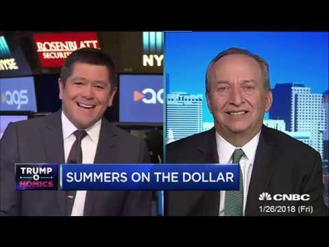 Larry Summers - We are mortgaging our future 2018 01 26