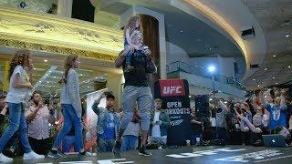 UFC 235: Open Workout Highlights
