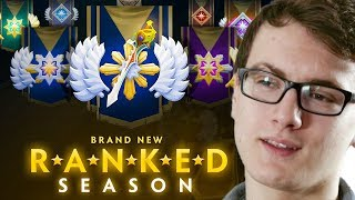 Miracle- Brand New RANKED SEASON System - No more MMR God Dota 2 7.07c