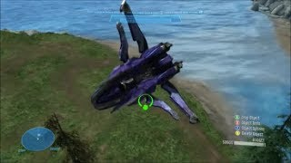 Halo Reach - Can You Flip Out Of Air Vehicles?