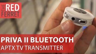 Avantree Priva II Bluetooth TV Transmitter - superb aptX quality wireless audio streamer [Review]